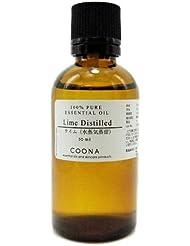 ライム 水蒸気蒸留 50 ml (COONA エッセンシャルオイル アロマオイル 100% 天然植物精油)