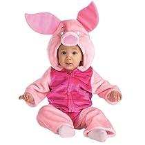 Disney Baby Piglet Plush Bodysuit Infant / Toddler Costume ディズニーベビーピグレットぬいぐるみスーツの幼児/幼児コスチューム サイズ:Infant/Toddler