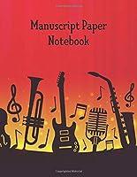 """Manuscript Paper Notebook: Manuscript Music Paper * Large (8.5"""" x 11"""") * 12 Stave * 100 Pages: Instruments"""