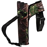 F Fityle 3-Tube Archery Quiver Back Waist Shoulder Bag Arrow Holder Pouch for Hunting
