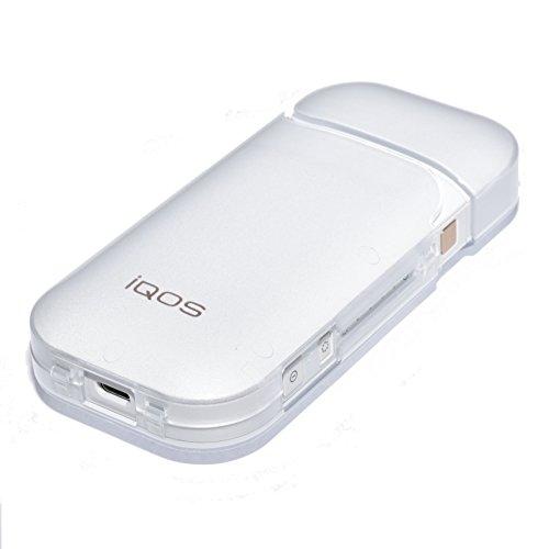 [해외] IMPX 아이코스 풀 커버 하드 케이스 IQOS 케이스 투명 커버 protection 케이스 보호 충전가 클리어 컬러-