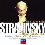 ストラヴィンスキー:3楽章の交響曲、ハ調の交響曲、詩篇交響曲 画像