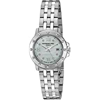 Raymond Weil Women's 5399-ST-00995 Tango Steel Mother-Of-Pearl Diamond Crystal Dial Watch