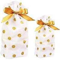 ラッピング袋 ギフトバック 巾着袋 小物入れ プレゼント用 パーティー用 敬老の日 母の日 父の日 ハロウィン 新年 23*15*6cm 5枚 34*23*6cm 5枚