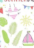 igsticker ポスター ウォールステッカー シール式ステッカー 飾り 297×420㎜ A3 写真 フォト 壁 インテリア おしゃれ 剥がせる wall sticker poster 013959 海 リーフ カラフル