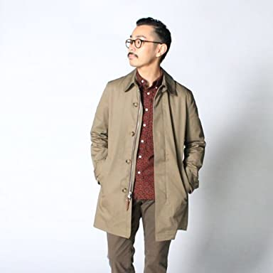 GB Sport Cotton Topcoat 9154: Khaki