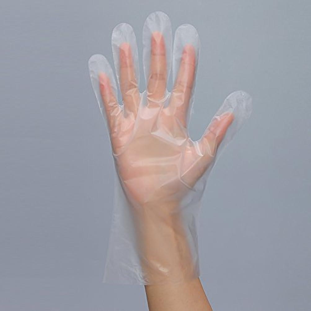 塩困ったエキゾチック使い捨て手袋 透明 食事 キッチン 調理 美容用 衛生 20/100枚入  (100枚入(薄型))