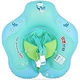 CBPPインフレータブルベビースイミングリングプールフロート安全幼児サークルスイムトレーナー子供水マットレスおもちゃ Boia Piscina 子供のための (green, XL(2-6 years old))