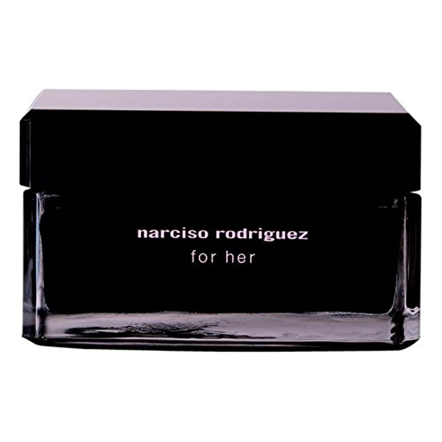 添付うっかりめ言葉ナルシソ?ロドリゲスボディクリーム150ミリリットル (Narciso Rodriguez) - Narciso Rodriguez Body Cream 150ml [並行輸入品]