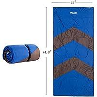 キャンプ寝袋ポータブル軽量圧縮袋とpilloow 4 Season for Travling 74.8