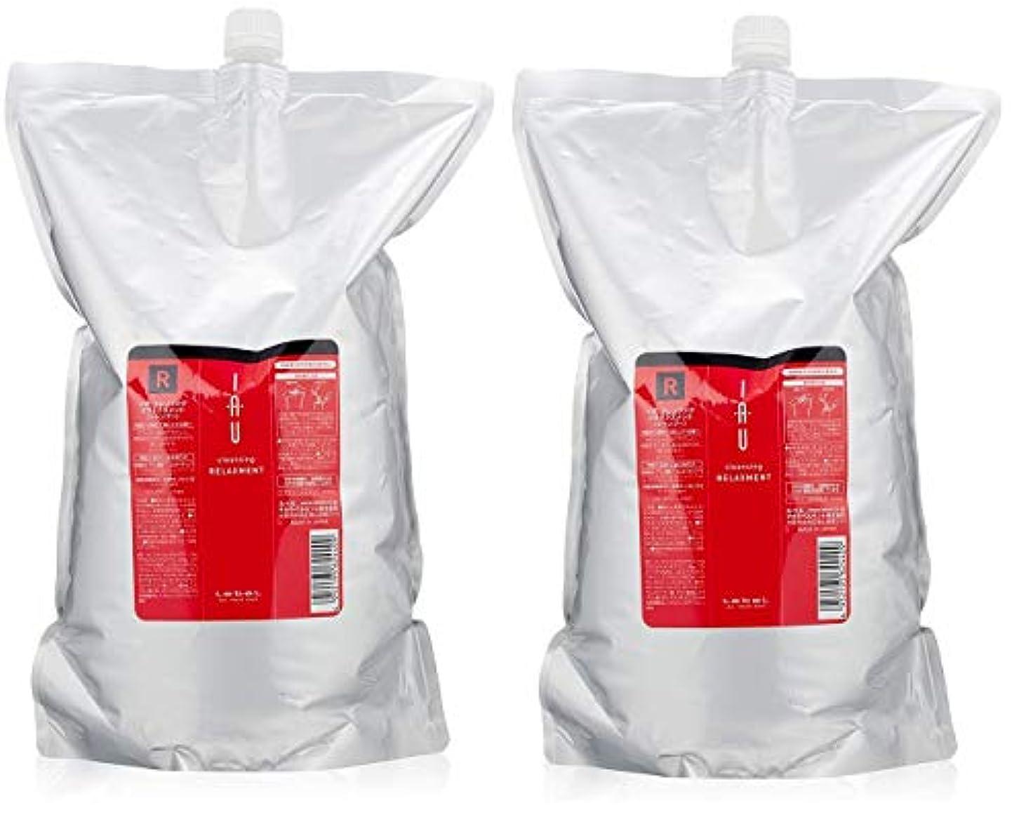 放散する料理予防接種ルベル イオ クレンジング リラックスメント シャンプー 2500mL ×2個セット 詰め替え 業務用 Lebel iau
