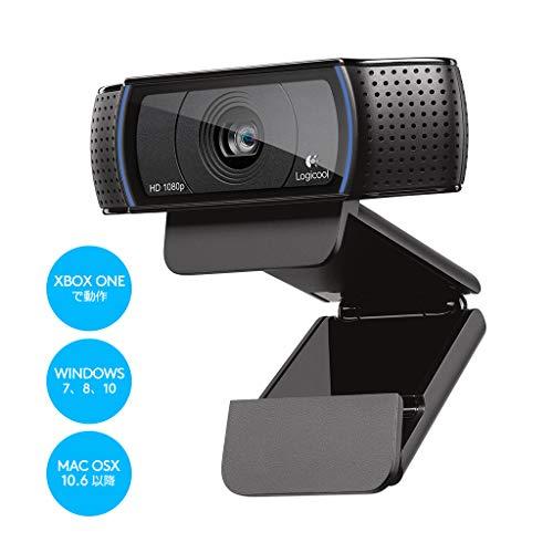 『ロジクール ウェブカメラ C920r ブラック フルHD 1080P ウェブカム ストリーミング 国内正規品 2年間メーカー保証』の5枚目の画像