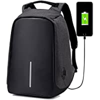 Anti-Theft Laptop Backpack Travel Bag Water Repellent w/USB Port Travel Busines