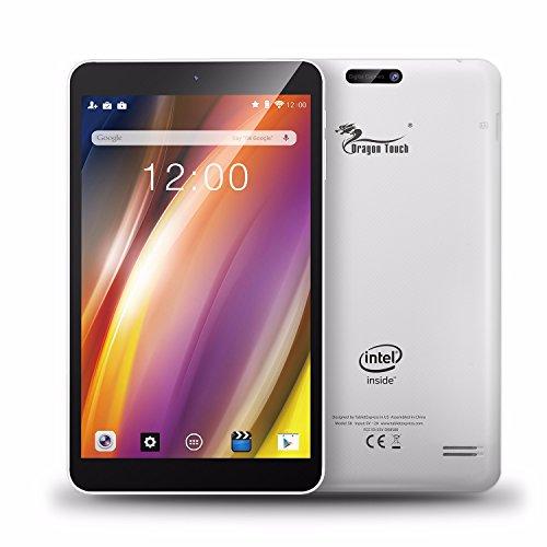 Dragon Touch S8 8インチ タブレットPC インテルクアッドコア Google Android 5.1 IPS液晶 解像度1280x800 1G/16G Bluetooth搭載 日本語対応