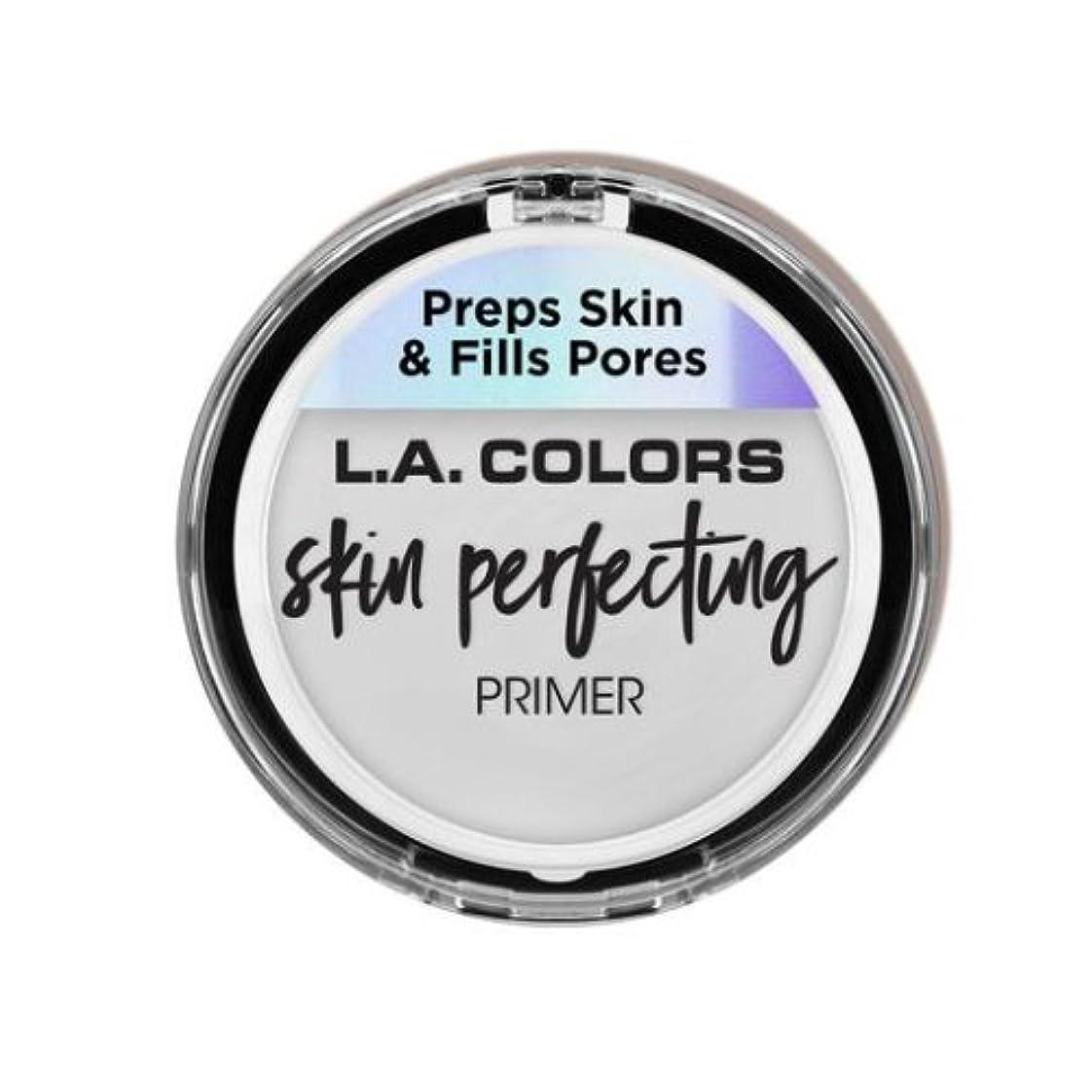 忘れっぽい永続施し(6 Pack) L.A. COLORS Skin Perfecting Primer - Clear (並行輸入品)