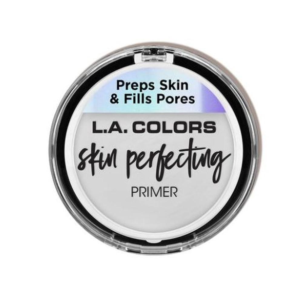 憂鬱残忍なシート(3 Pack) L.A. COLORS Skin Perfecting Primer - Clear (並行輸入品)