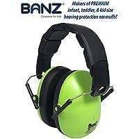 Baby BanZ Kids Earmuffs, Lime