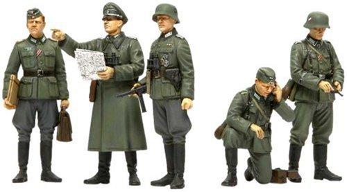 1/35 ミリタリーミニチュアシリーズ No.298 1/35 ドイツ野戦指揮官セット 35298