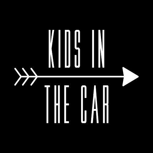 kids in car カッティング ステッカー Sサイズ ...