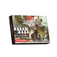 Dungeons and Dragons 公式 ペイントライン 冒険家 ペイントセット