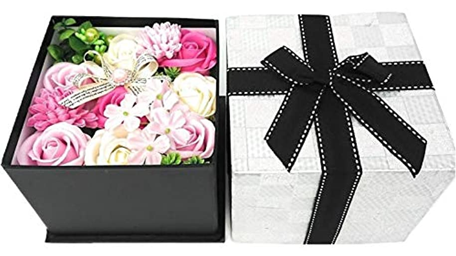ゲームバラバラにする植物のクルール バスフレグランス バスフラワー BOX M ピンク 入浴剤 ギフト