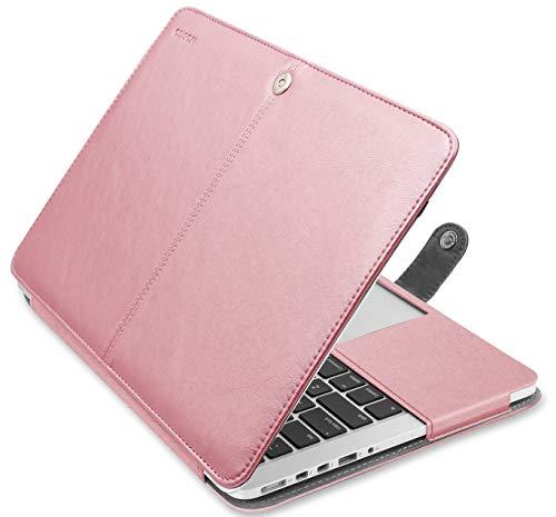 『MOSISO PUレザーケース MacBook Pro 13インチRetinaディスプレイ CD-ROMなし ブックカバー スタンド機能付きフォリオスリーブ MacBook Retina 13 Inch (A1425 and A1502) ゴールド MO-R13-PU-11RG』のトップ画像