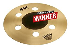 "Sabian/AAXセイビアン スプラッシュシンバル AAX Air Splash 10"" [AAX-10ASP / ""PLAYERS' CHOICE 2013"" THE WINNERS!]"
