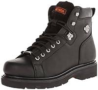 Harley - DavidsonメンズBarton lace-to-toe Boot US サイズ: 8 mens_us カラー: ブラック