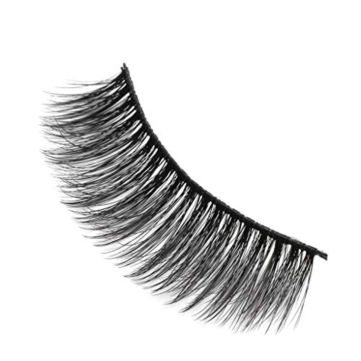 言い訳添付モルヒネ柔らかい長い巻き毛と歪んだ多くの層まつげと3Dミンクの毛皮の10ペア