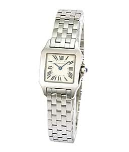 [カルティエ]CARTIER 腕時計 サントスドゥモアゼル ホワイト W25064Z5 レディース 【並行輸入品】