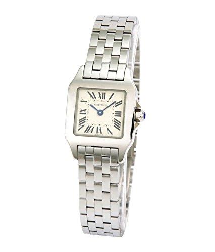 腕時計 サントスドゥモアゼル ホワイト W25064Z5 レディース カルティエ