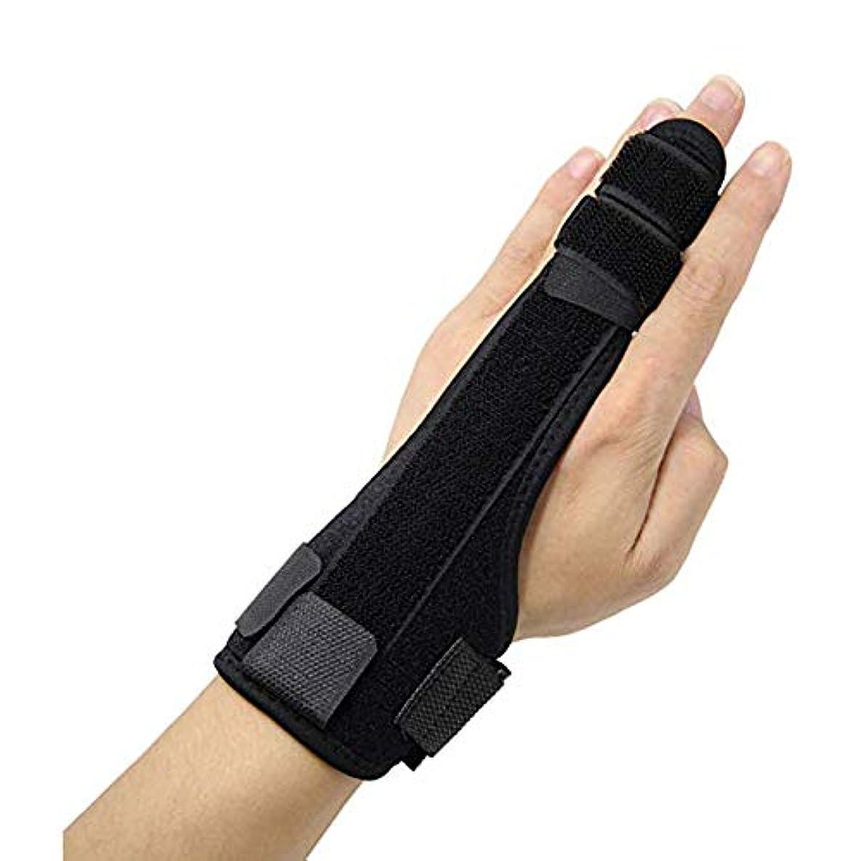 にはまってに付ける大統領壊れた指、傷害、関節炎、トリガと痛みを軽減を矯正するために添え木、可塑性アルミニウムストリップブレースサポートフィンガー