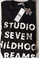NAOTO GU STUDIO SEVEN ヘビーウェイトビッグTシャツ 黒 S