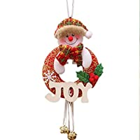 Honel クリスマスツリー装飾 木製飾り レター掛け物 クリスマスツリー飾り ペンダント飾り物 飾り付け かわいい クリスマス用品