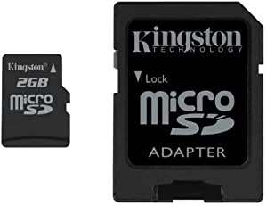 Kingston 2GB microSDカード SDC/2GB 永久保証