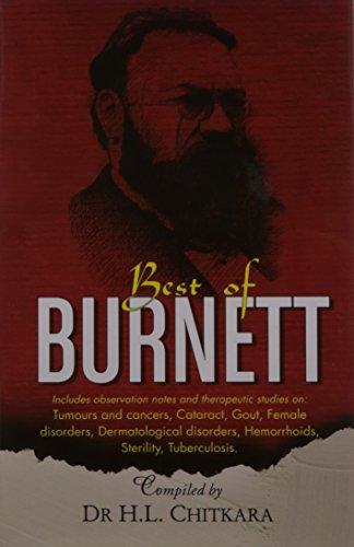 Download The Best of Burnett: Materia Medica, Therapeutics and Case Reports 8131901599
