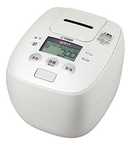 タイガー 炊飯器 5.5合 圧力 IH アーバンホワイト 炊きたて 炊飯 ジャー JPB-H101-WU Tiger