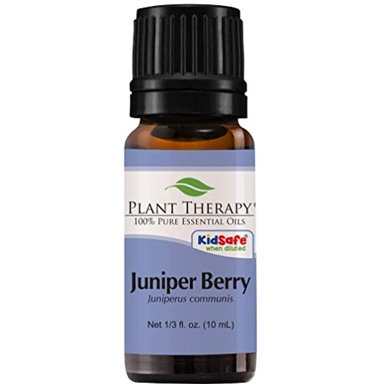 緩む編集するヘルパーPlant Therapy Juniper Berry Essential Oil. 100% Pure, Undiluted, Therapeutic Grade. 10 ml (1/3 oz).