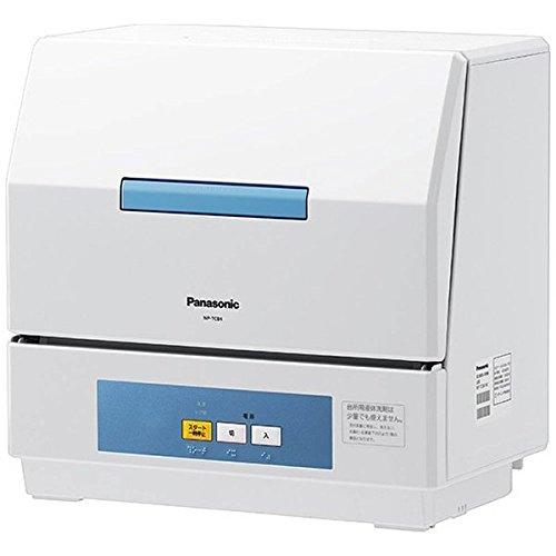 パナソニック 食器洗い機 プチ食洗 NP-TCB4-W 洗浄...