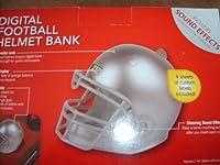 デジタルフットボールヘルメットバンク–シルバー