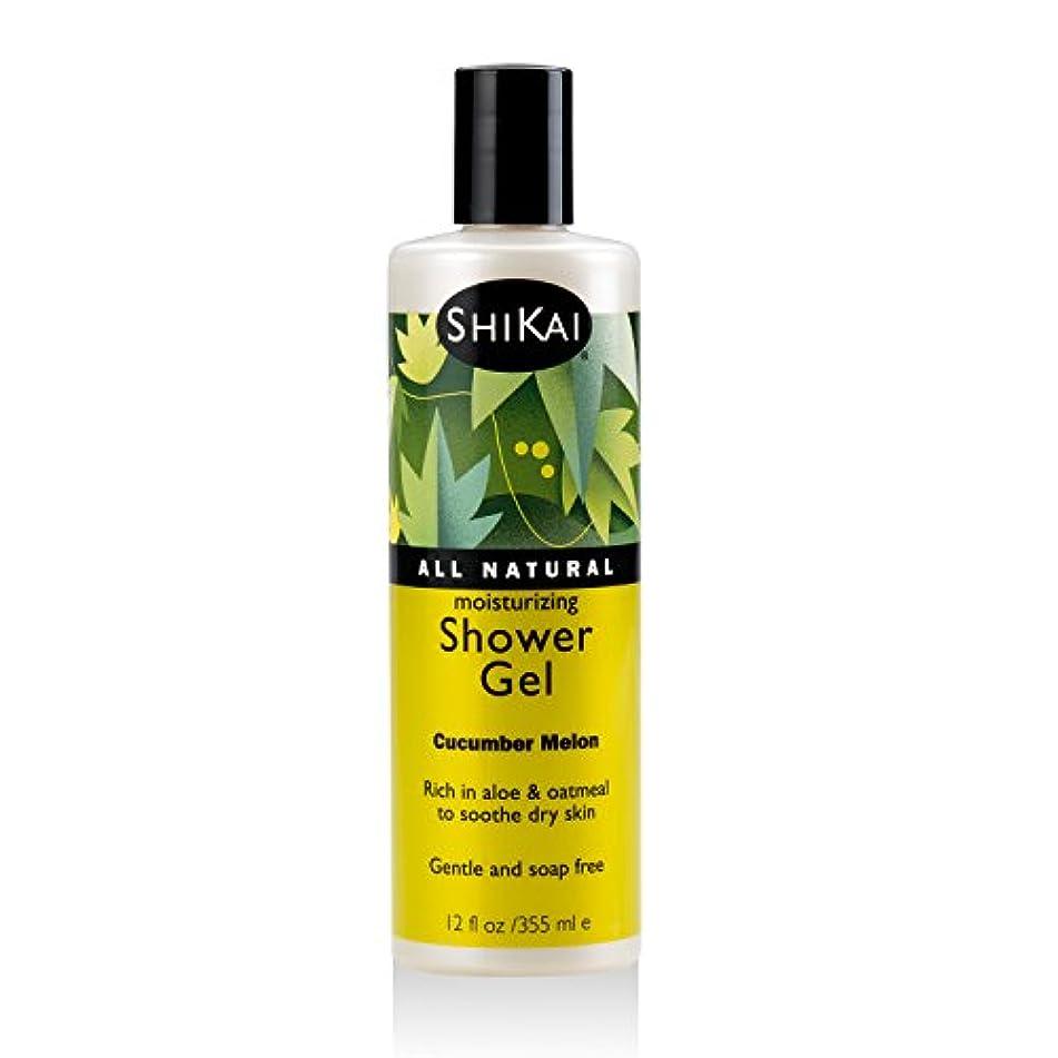 殺す静かな蒸留Shikai Products Cucumber Melon Shower Gel 360 ml (並行輸入品)