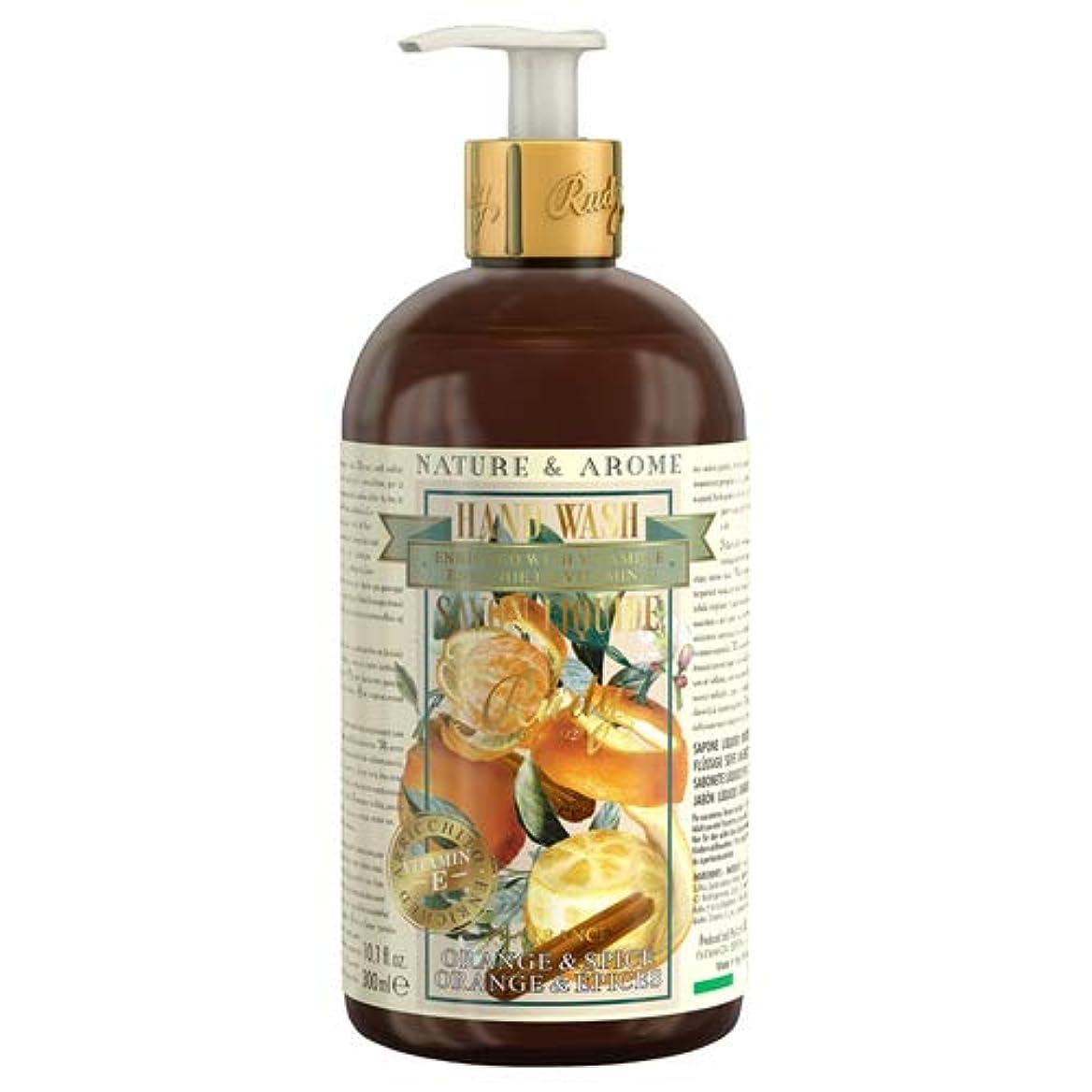 ゴネリル偽善程度RUDY Nature&Arome Apothecary ネイチャーアロマ アポセカリー Hand Wash ハンドウォッシュ(ボディソープ) Orange & Spice オレンジ&スパイス