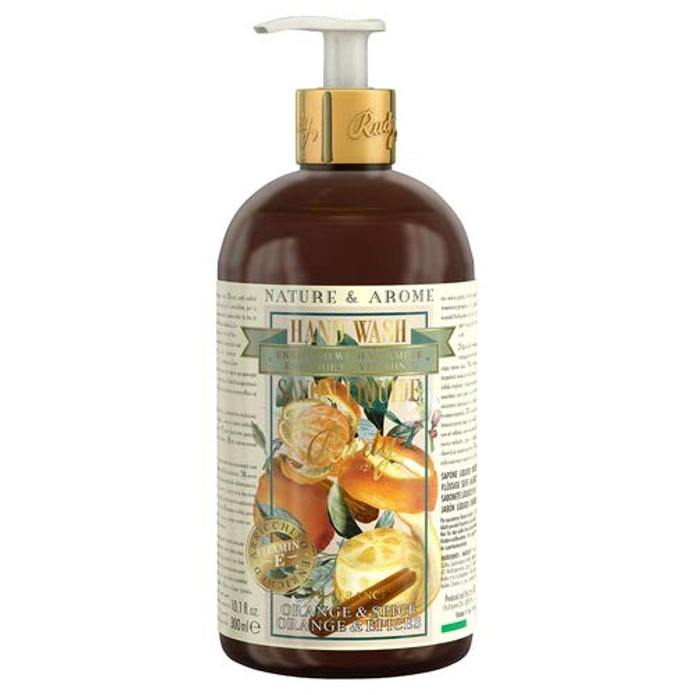 賛美歌施設不名誉なルディ(Rudy) RUDY Nature&Arome Apothecary ネイチャーアロマ アポセカリー Hand Wash ハンドウォッシュ(ボディソープ) Orange & Spice オレンジ&スパイス