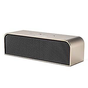 Qtuo Bluetoothスピーカー 20W低音強化 アルミニウム合金 8時間再生可能