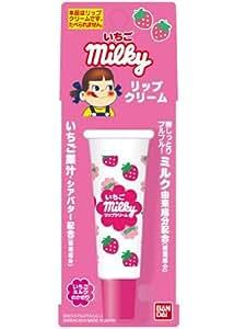 【限定商品】不二家ミルキー&ペコちゃん リップクリーム いちご 8.0g