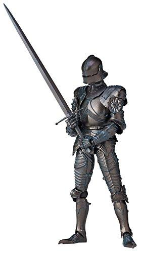 タケヤ式自在置物 15世紀ゴチック式フィールドアーマー ブロンズ 全高約147mm PVC&ABS製 塗装済み 可動フィギュア