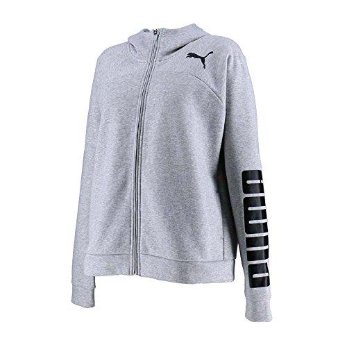 [해외]PUMA (푸마) 여성 트레이닝 복 어반 스포츠 풀 Zip 로고 후디 594732/PUMA (PUMA) Ladies` Training Wear Urban Sports Full Zip Logo Hoodie 594732