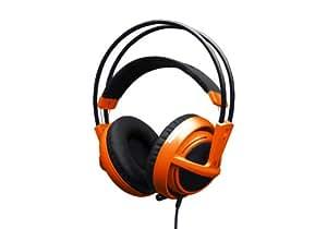 SteelSeries Siberia v2 Full-size Headset(フルサイズヘッドセット)Orange  51106