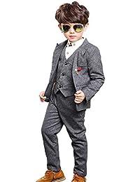 3fcb0b6a7ec3b 7点セット!子供服 スーツ 男の子 フォーマル 入学式 キッズ ジャケット タキシード ...