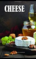 Cheese Note Monthly 2020 Planner 12 Month Calendar